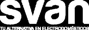 Logotipo blanco svan