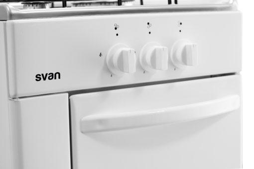 SVK5310GBW - Cocina gas de 3 fuegos blanca de Svan