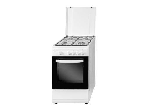 SVK5501GBB - Cocina de 4 fuegos blanca de Svan