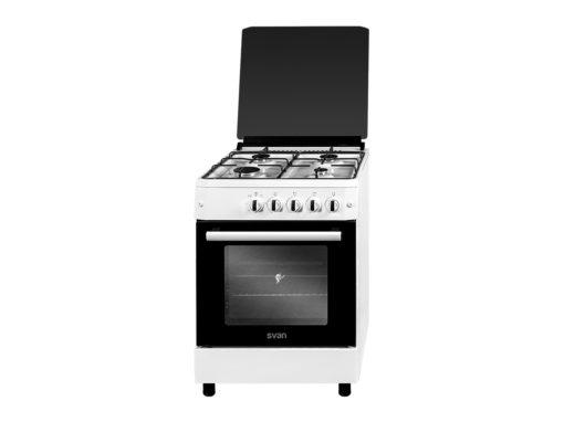 SVK6601GB - Cocina gas 60 cm blanca de Svan