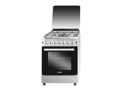 SVK6603ETX - Cocina mixta de 4 fuegos inox de Svan