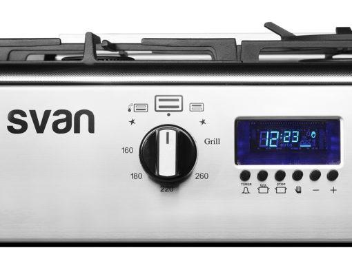 SVK9561FX - Cocina gas 90 cm inox de Svan