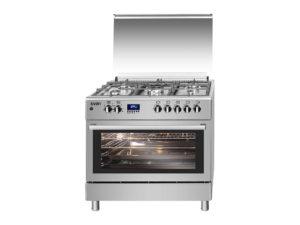 SVK9562FEX - Cocina mixta 90 cm inox de Svan