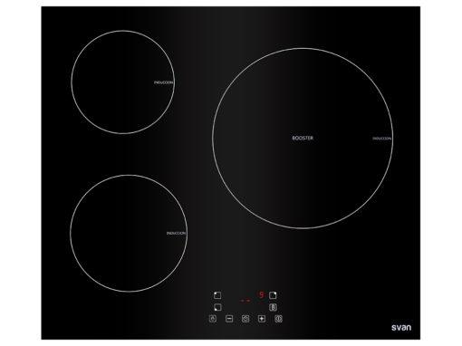 SVI6391 - Placa inducción con 3 inductores de Svan