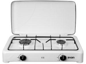 SVHS200 - Hornilla de butano 2 quemadores de Svan