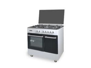 SVK059060GBB - Cocina de 5 fuegos blanca de Svan