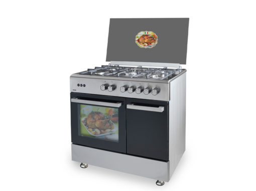 SVK059060GBI - Cocina de 5 fuegos inox de Svan