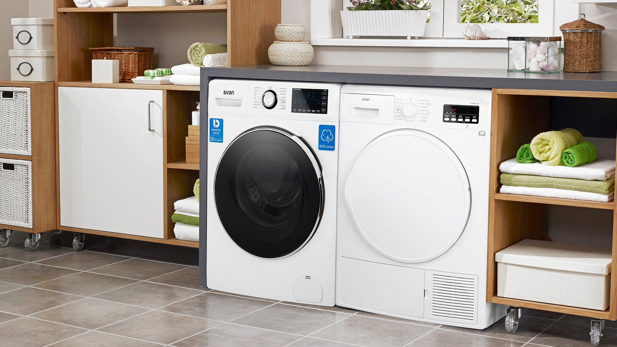 Gama de lavadoras SVAN