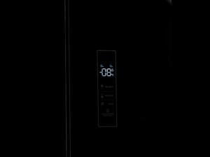 SV4P183CN - Frigorífico 4 puertas de cristal negro de Svan