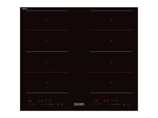 SVI623FZ - Placa de inducción de 3 zonas Flexizone de Svan