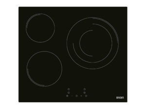 SVV6374 - Placa vitrocerámica de 3 zonas de Svan