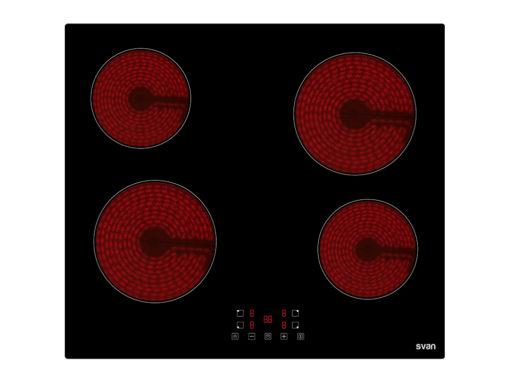 SVV640B - Placa vitrocerámica de 4 zonas de Svan